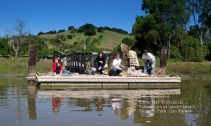 earthday2 mcinnis dock 300x180 March 9 Watershed Hike: Gallinas Creek Baylands