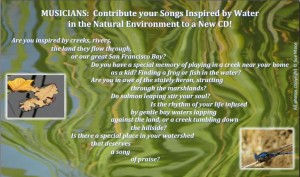 Please contribute to the Gallinas Watershed Council music CD