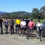 "Attendees of ""Bike The Watershed 4"" GWC bike ride in August 2014"