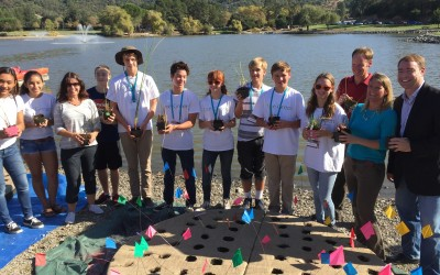 Bioneers highlight MSEL Students work on Civic Center Floating Islands