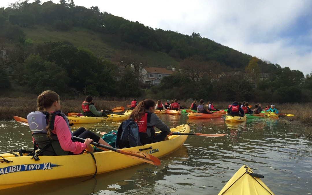 Gallinas Creek Tours in March 2016