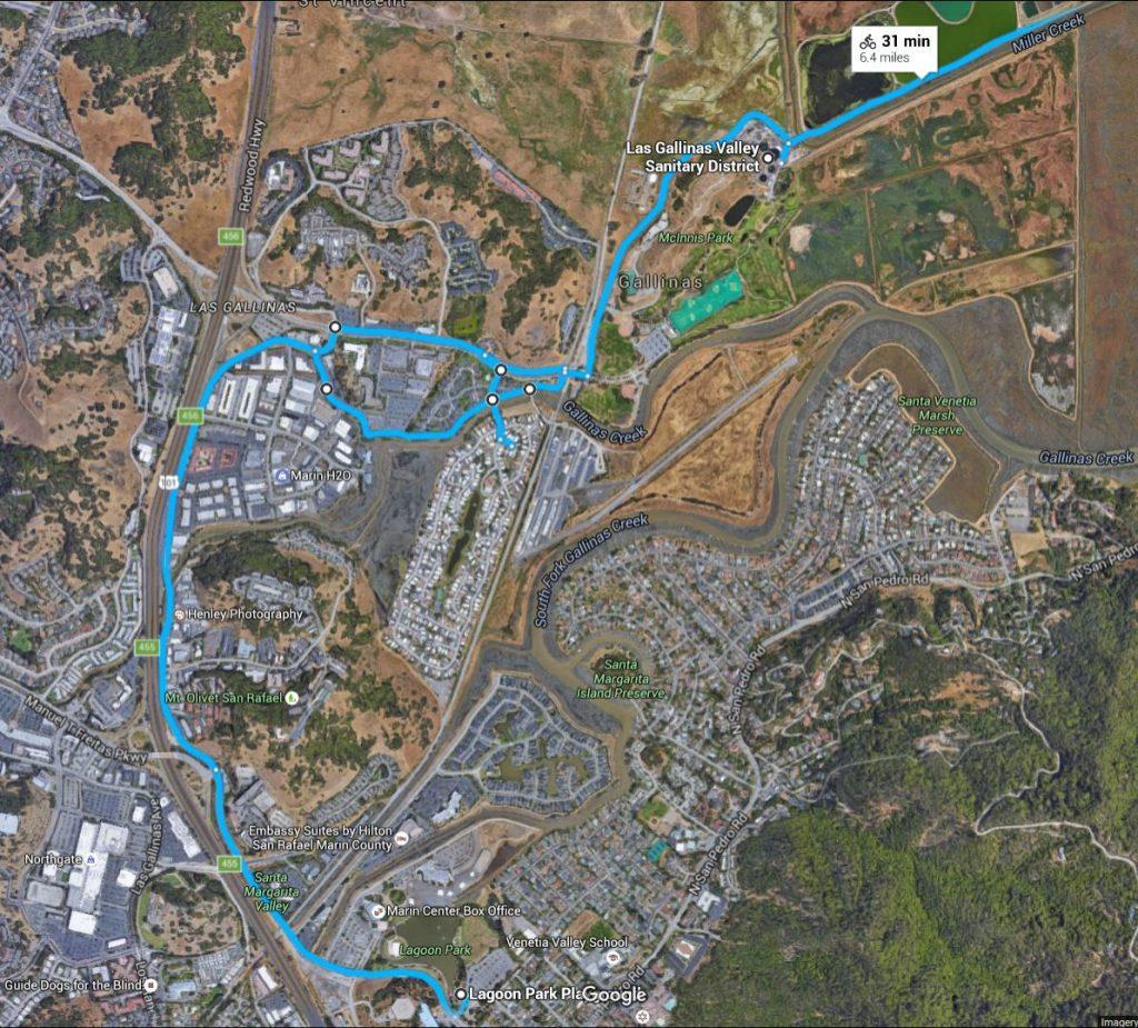 2016 Bike The Watershed VI trail