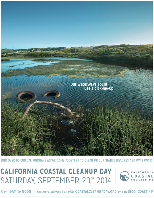 Sept 20 Volunteer for Coastal Clean-up Day
