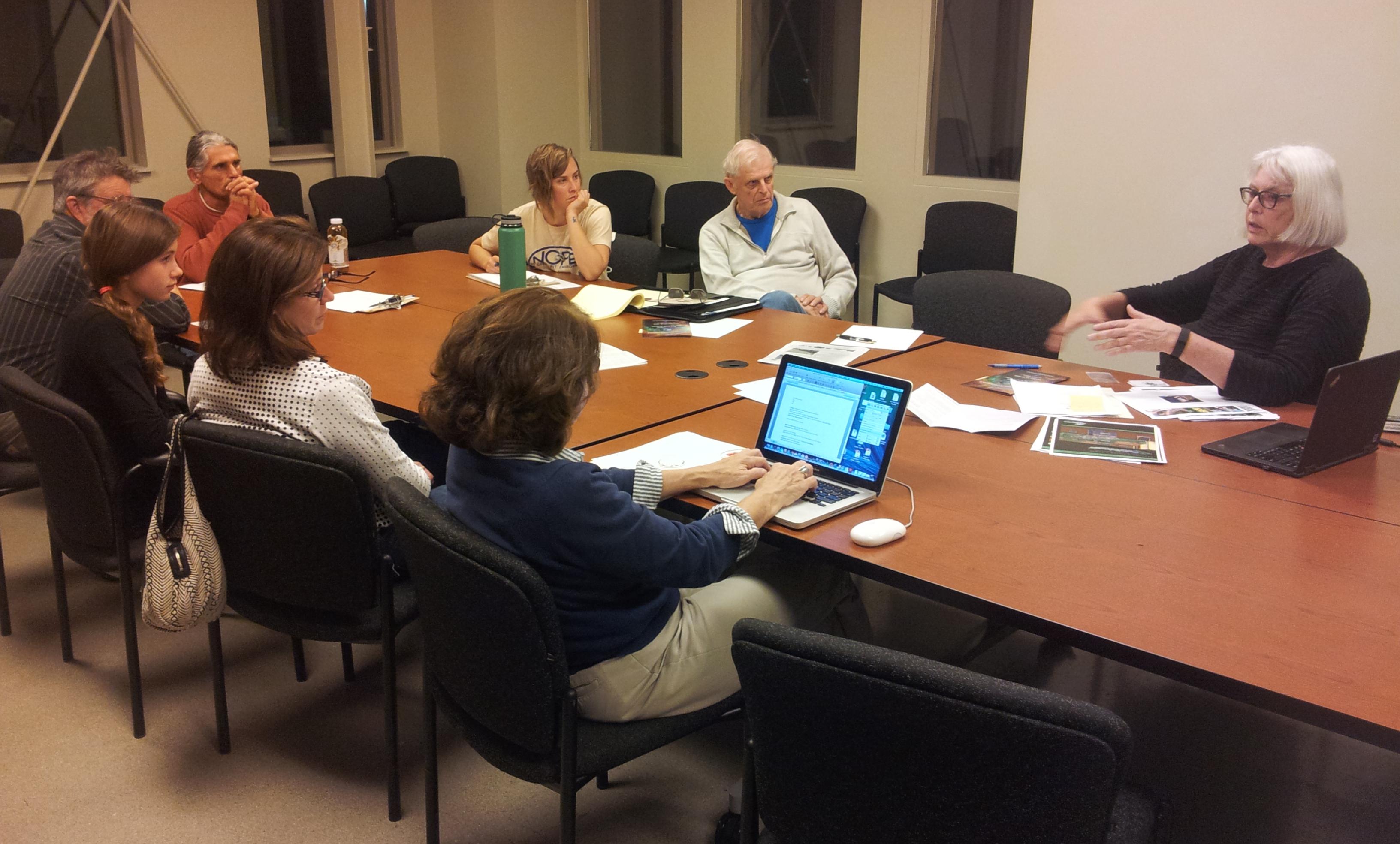 Jan 9 2019 GWC Board Meeting