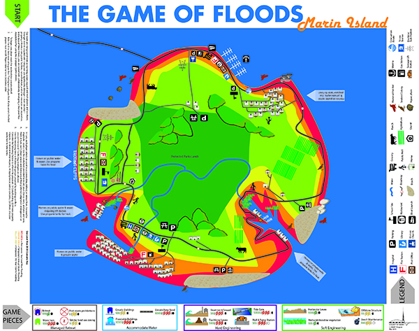 Game of Floods Map