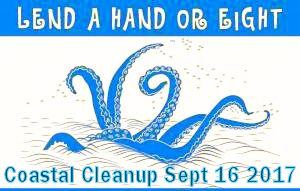 Sept 16, 2017 Coastal Cleanup Day on Gallinas Creek