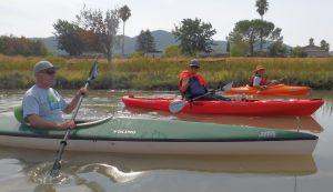 kayak trio