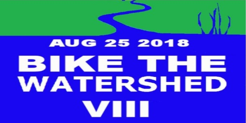 "August 25 2018: Bicycle Tour ""Bike the Watershed VIII"""