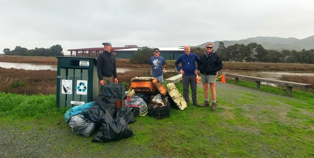 Jan 2019 King Tide Gallinas Creek Cleanup